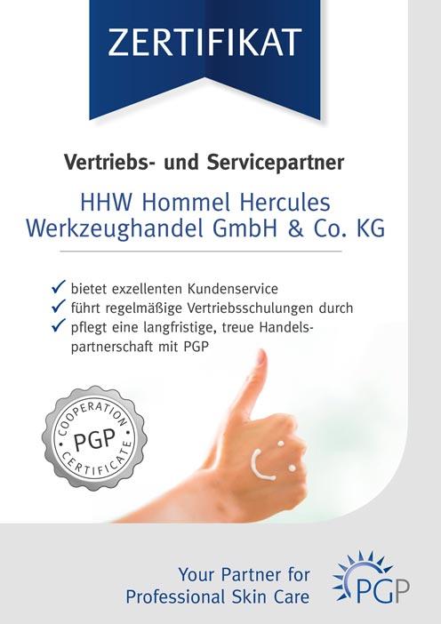 PGP Partnerschaft Zertifikat